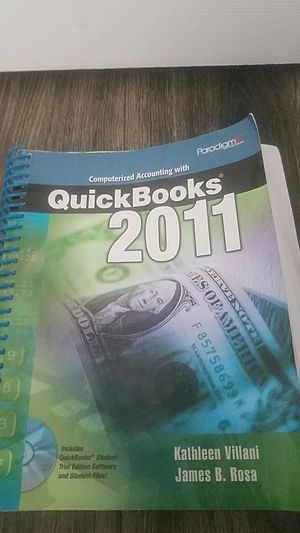 Computerized Accounting with Quick books 2011 for Sale in Spokane, WA