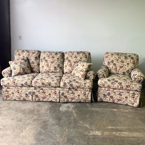 Flexsteel Sofa and Occasional Chair for Sale in Allentown, PA