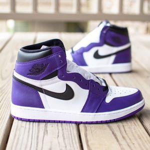 Jordan 1 Court Purple - Multiple Sizes for Sale in Buffalo, NY