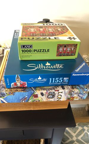 Puzzles! Complete with ALL pieces! for Sale in Washington, DC