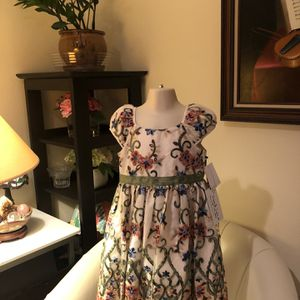 Pippa & Julie Flower Embroidered Dress - Kid Clothes- Clothes for Sale in West Covina, CA