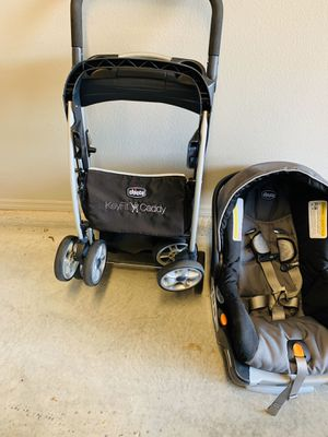 Chicco stroller with base and lite caddy for Sale in Gainesville, FL