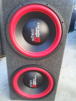 Cerwin vega 15s and ppi 1200 amp for Sale in Compton, CA