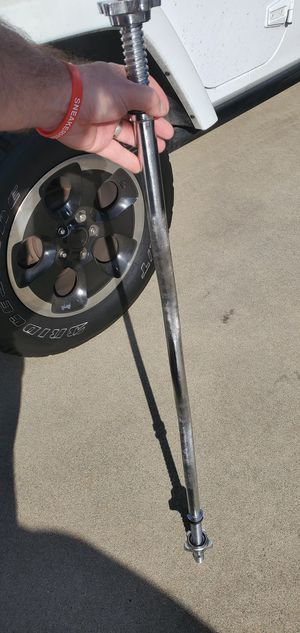 "Standard 1"" Curl barbell with spin locks for Sale in Baldwin Park, CA"