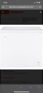 New 7 cubic foot freezer for Sale in Las Vegas, NV