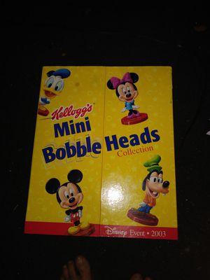 Kelloggs mini bobble head collection set for Sale in Battle Creek, MI