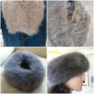 Real Toscana Lamb And Fox Fur Collar/scarf Priced Individually NO OFFERS for Sale in Portland, OR