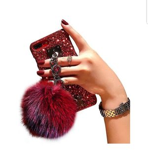 Wine Red Bling iPhone 7/8 plus Case for Sale in Hayward, CA
