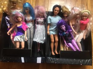 Barbie and Jem dolls with carrying case for Sale in Fort Lee, NJ