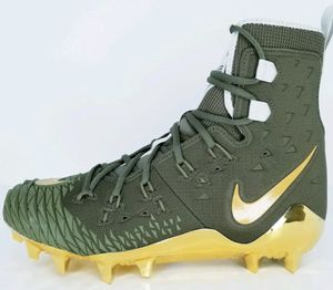 NEW! Nike Force Savage Elite TD Football Cleat Sz 15 Olive Green Gold AH6424-271 for Sale in Anaheim, CA