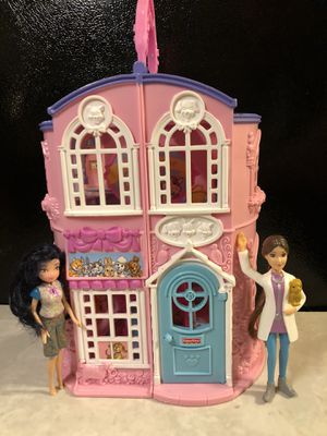 Fisher Price Sweet Treats Pet Parlor Lot Playset With Dolls - SW OKC PICK UP for Sale in Oklahoma City, OK