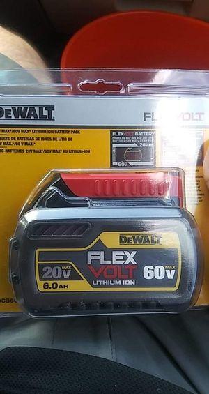 Brand new Dewalt 6.0 flexvolt battery. We will go fast first time for Sale in Lexington, SC
