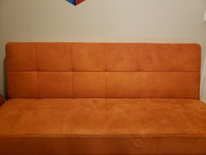Fold out Futon like couch. Slightly used. for Sale in Miami, FL
