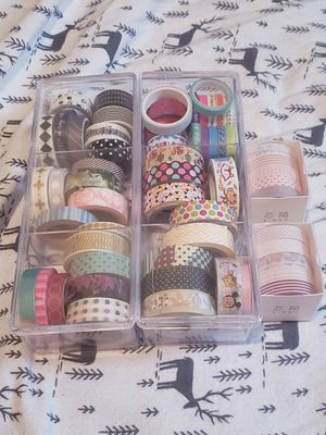 Washi tape lot for Sale in Bridgeport, CT