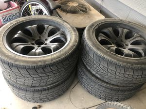"22"" rims for sale for Sale in Benton City, WA"