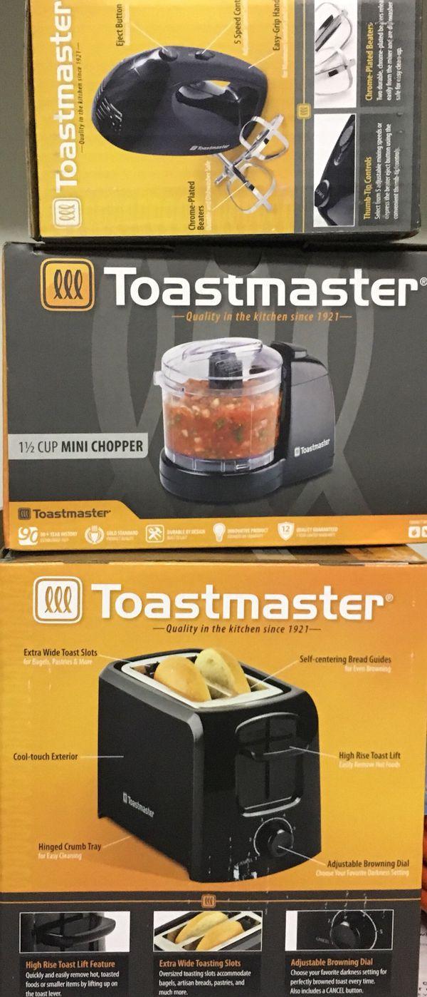 3 small kitchen appliances (Brand New)