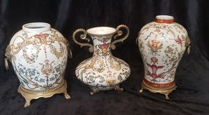 Antique Dominic china vase set for Sale in HUNTINGTN BCH, CA