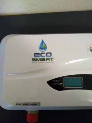 Eco Smart tankless water heater for Sale in San Antonio, TX