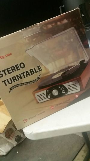 BRAND NEW opened box 1Byone Stereo Turntable for Sale in Shelbyville, TN