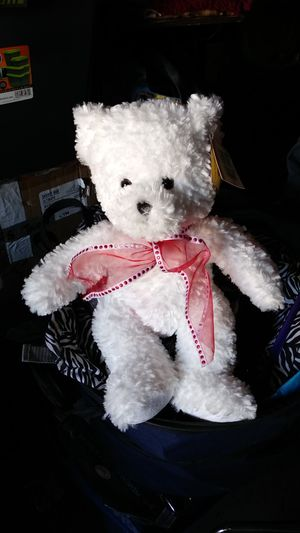 White Teddy Bear for Sale in Oxnard, CA