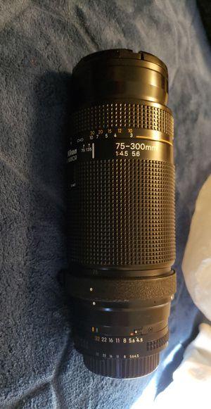 Nikon lens for Sale in Chandler, AZ