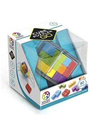 SmartGames Cube Puzzler GO - 3D STEM Game - Brain Teaser for Ages 8 & Up, 80 Challenges in Portable Display Case. . / Compare Amazon price . New neve for Sale in Chillum, MD