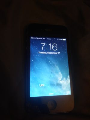 Iphone 4s black for Sale in Oroville, CA