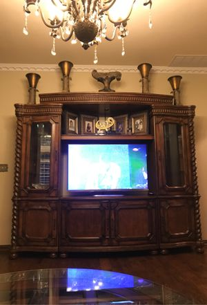 Large tv stand for Sale in Rowlett, TX