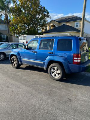 2009 Jeep Liberty Blue for Sale in Poinciana, FL