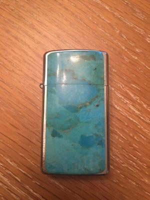 Turquoise zippo lighter for Sale in Gilbert, AZ