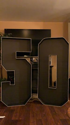 Birthday party foam numbers & letters! 2 sizes! for Sale in Philadelphia, PA