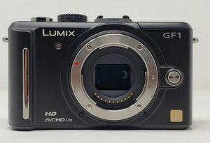 Panasonic LUMIX DMC-GF1 12.1MP Digital Camera - Black for Sale in Lynwood, CA
