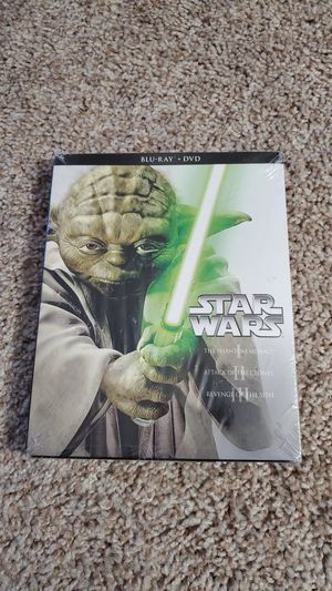 Star Wars Blue Ray and DVD for Sale in Beaumont, CA