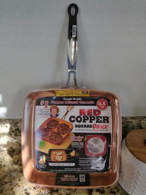 Red Copper Square Pan for Sale in Westminster, CO