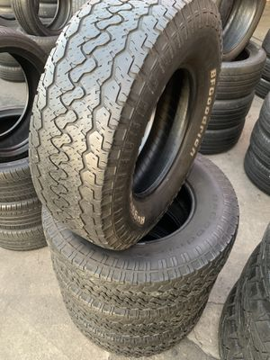 265/70/16 set of Bfgoodrich AT tires installed for Sale in Ontario, CA