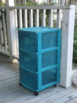 Sterilite Stackable Rolling Plastic Drawers for Sale in Houston, TX