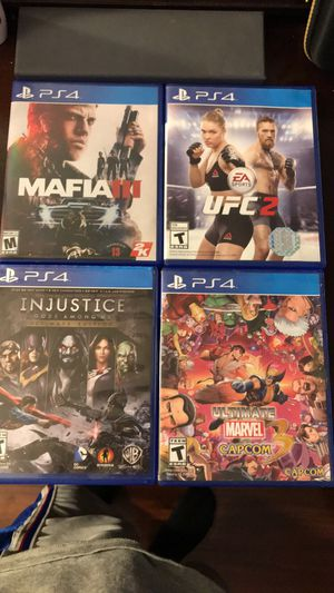 Ps4 Games for Sale in San Angelo, TX