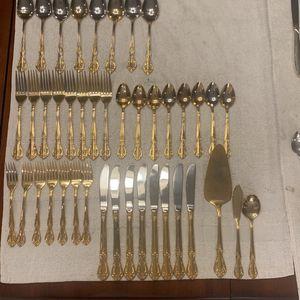Silver Rhythm Silverware 59 Pieces for Sale in Fort Pierce, FL