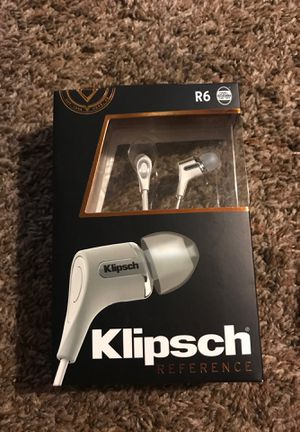 Klipsch reference R6 earbuds for Sale in Draper, UT