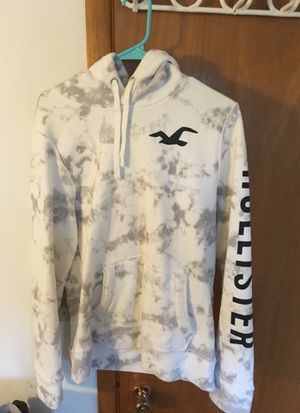 Hollister Hoodie/Jacket (White) for Sale in Fremont, CA
