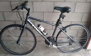 Trek FX Silver Alpha Aluminum Road Bike Light Weight for Sale in Tustin, CA