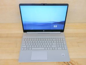 HP 15 laptop i3 10th Gen. Silver. Delivery for Sale in Silver Spring, MD