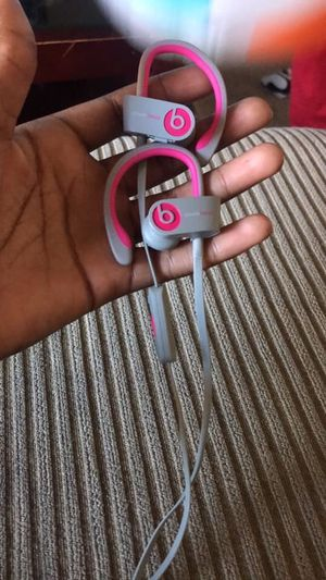 Beats by Dr. Dre Powerbeats2 In-Ear Wireless Headphones - Pink/Grey for Sale in Nashville, TN