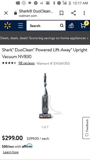 Shark vacuum for Sale in Hemet, CA