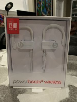 Powerbeats 3 wireless white (read description) for Sale in Miami Gardens, FL