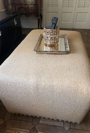 Beige Large Ottoman French Farmhouse for Sale in Burbank, CA