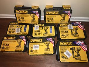 Brand new XR dewalt hammer drills for Sale in Charlotte, NC