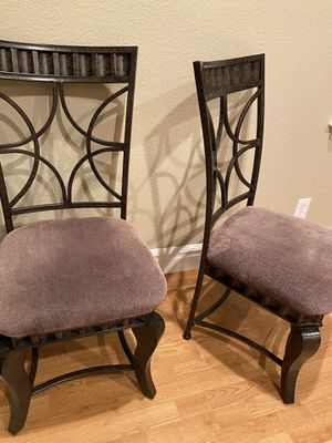 Very clean metal chairs for Sale in Highlands Ranch, CO
