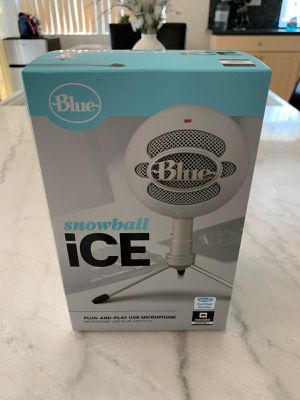 NEW Blue Snowball ICE Microphone white for Sale in San Diego, CA