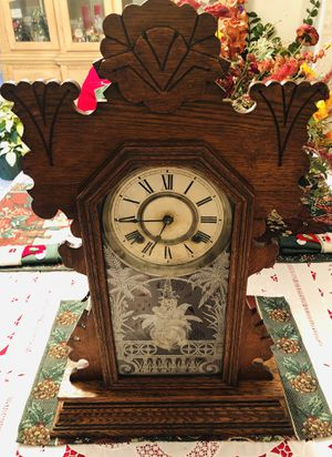ANTIQUE ANSONIA 1894 GINGERBREAD MANTLE CLOCK for Sale in Tampa, FL